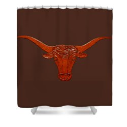 Longhorn 2 Shower Curtain