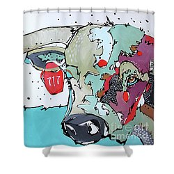 Longhorn No. 717 Shower Curtain