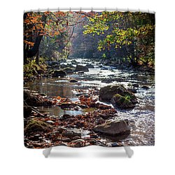 Shower Curtain featuring the photograph Longing For Home by Karen Wiles