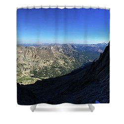 Longs Peak Trough Shower Curtain
