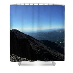 Longs Peak West Shower Curtain