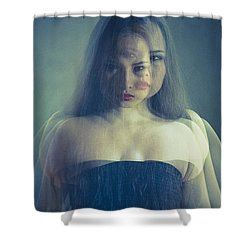 Look At Me Shower Curtain by Scott Meyer