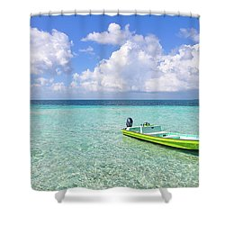 Look At This Beautiful Blue Water Shower Curtain