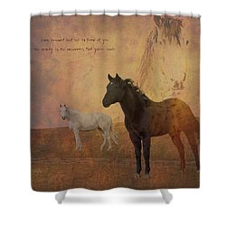 Look Forward Shower Curtain