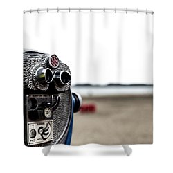 Shower Curtain featuring the photograph Look  by Lora Lee Chapman
