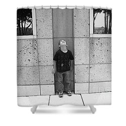 Looken Up Shower Curtain by Michelle S White