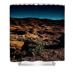 Looking Across The Hills Shower Curtain
