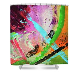 Looking Back Shower Curtain by Everette McMahan jr