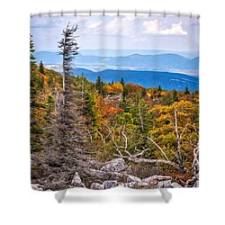 Looking East From Bear Rocks 4290c Shower Curtain
