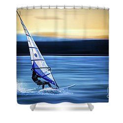 Shower Curtain featuring the photograph Looking Forward by Hannes Cmarits