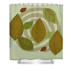 Looking To Fall Shower Curtain by Kandy Hurley