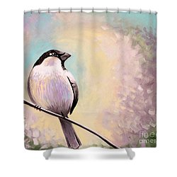 Look Toward The Light Shower Curtain by Elizabeth Robinette Tyndall