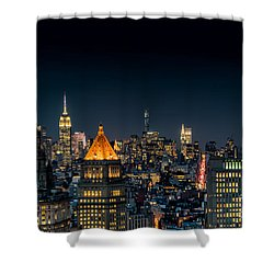 Looking Uptown Shower Curtain