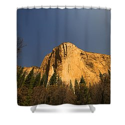 Looming El Capitan  Shower Curtain