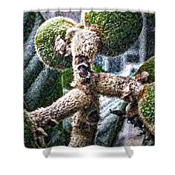 Loquat Man Photo Shower Curtain
