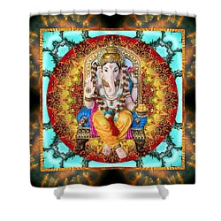 Lord Generosity Shower Curtain by Bell And Todd