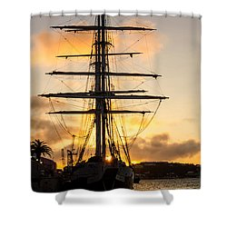 Lord Nelson Sunrise Shower Curtain