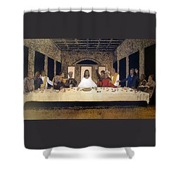 Lord Supper Shower Curtain