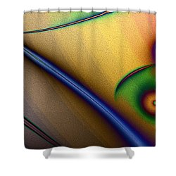 Loros De La Selva Shower Curtain