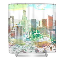 Los Angeles, California, United States Shower Curtain