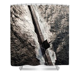 Los Angeles-class Submarine Uss Shower Curtain by Stocktrek Images