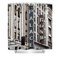 Los Angeles Downtown On Broadway Shower Curtain