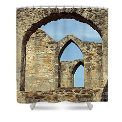 Los Arcos De La Mision San Jose Shower Curtain