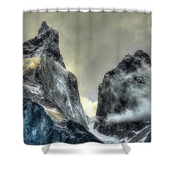 Los Cuernos-the Horns Shower Curtain