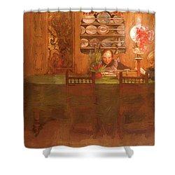 Los Deberes 1898 Shower Curtain