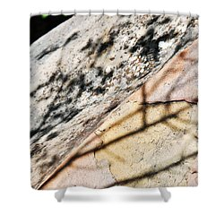 Shower Curtain featuring the photograph Los Padres Stone by Kyle Hanson
