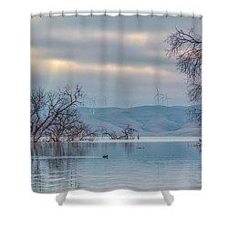 Los Vaqueros Morning Shower Curtain