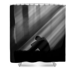 Loss Shower Curtain