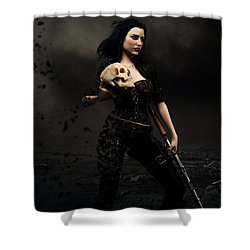 Losses Shower Curtain