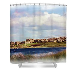 Lossiemouth Bay Shower Curtain