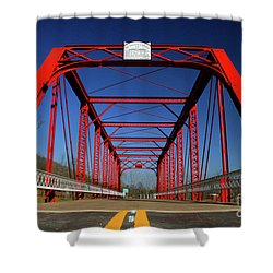 Lost Bridge Shower Curtain