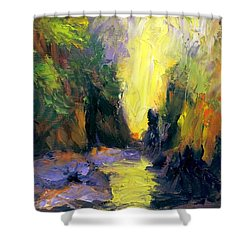 Lost Creek Shower Curtain