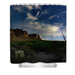 Lost Dutchman Shower Curtain