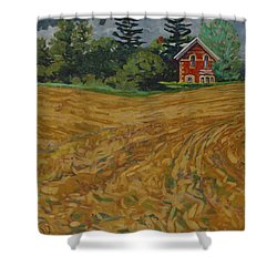 Lost Homestead Shower Curtain