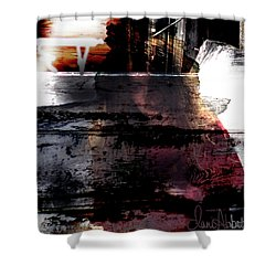 Lost In Her Thoughts Shower Curtain
