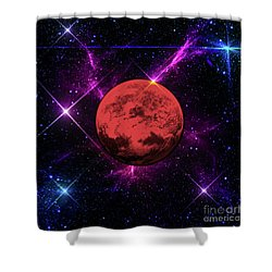 Shower Curtain featuring the photograph Lost In Space  by Naomi Burgess