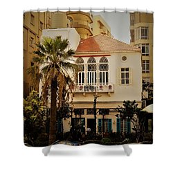 Lost In The Urban Jungle  Beirut  Shower Curtain