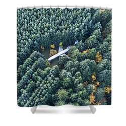 Lost In The Wild Shower Curtain