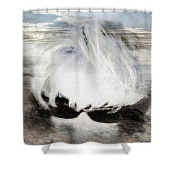 Shower Curtain featuring the photograph Lost In Thought by Pennie  McCracken
