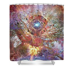 Lost In Transformations Shower Curtain