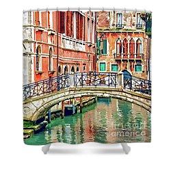 Lost In Venice Shower Curtain