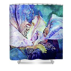 Lost Iris Passion 93 L_2 Shower Curtain
