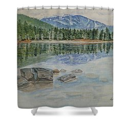 Lost Lake Whistler Bc Canada Shower Curtain by Kelly Mills