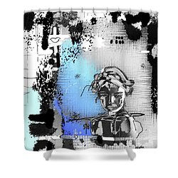 Lost Love Shower Curtain by Sladjana Lazarevic