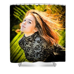 Lost Mermaid Shower Curtain by Loriental Photography
