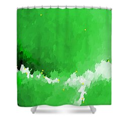 Lost To The Mists Of Time Shower Curtain